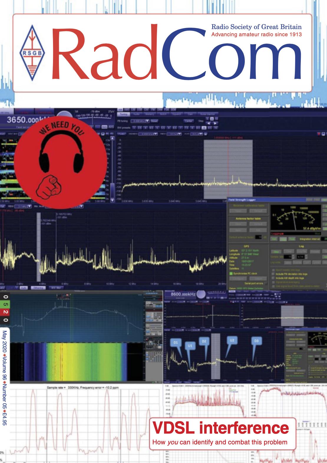 Radcom mei 2020 cover